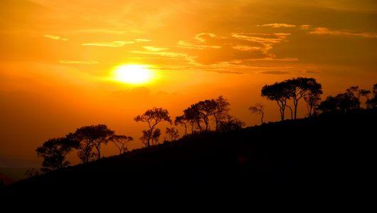 Za kopcem je Tanzánie