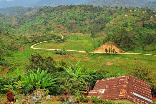 Rwandské údolí